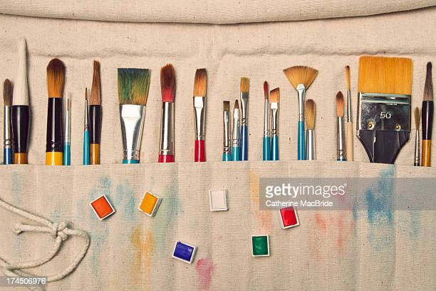 an artists tools - catherine macbride stock pictures, royalty-free photos & images