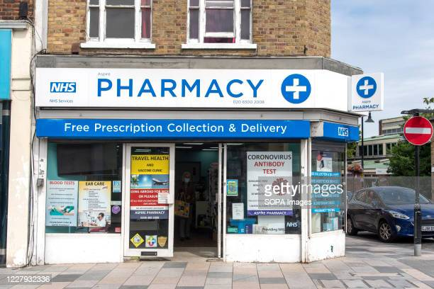 An Aspire Pharmacy store in Sidcup London