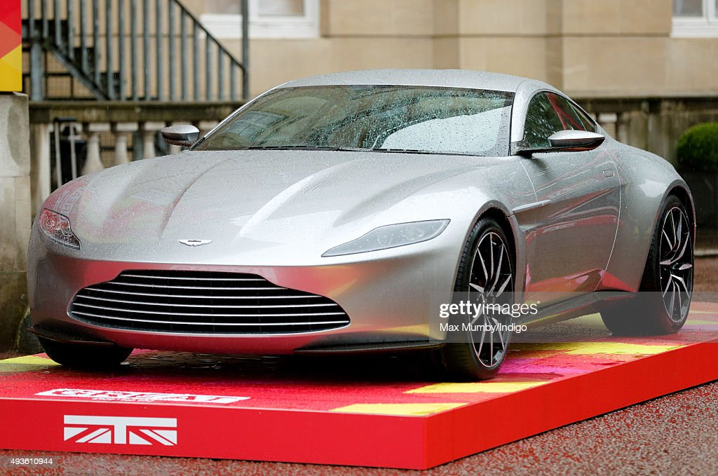 An Aston Martin Db10 Created For The James Bond Film Spectre Seen Foto Jornalistica Getty Images