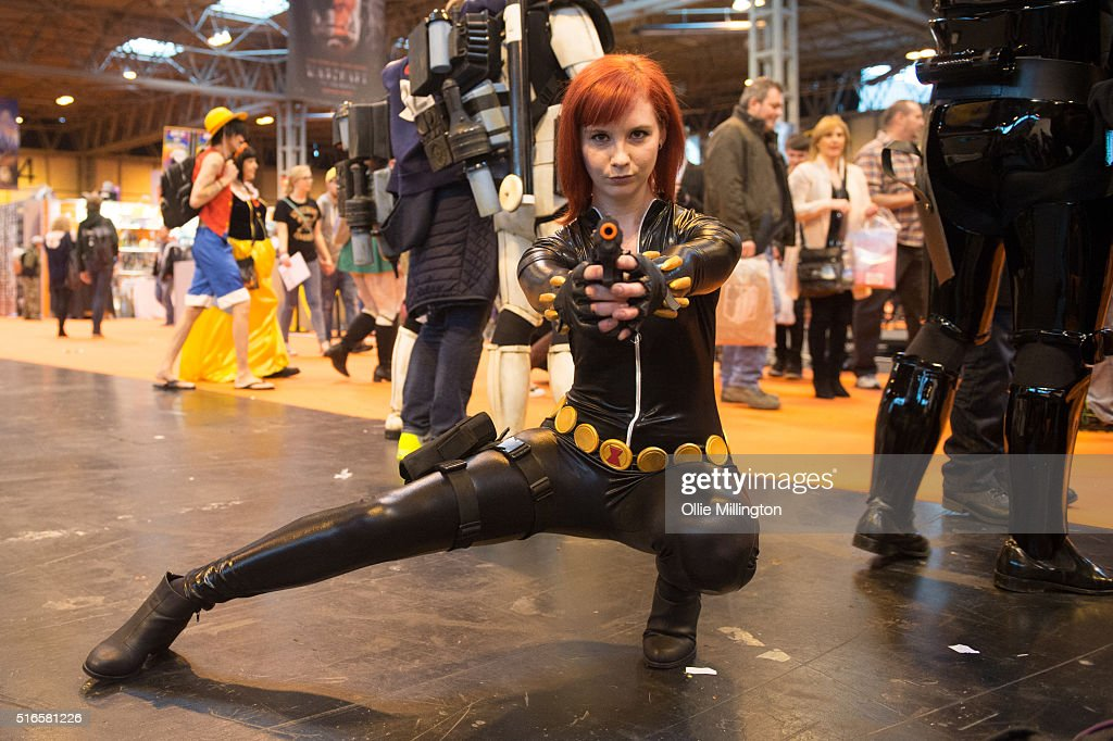An Atendee At Comic Con 2016 In Cosplay As Black Widow On March 19 News Photo Getty Images