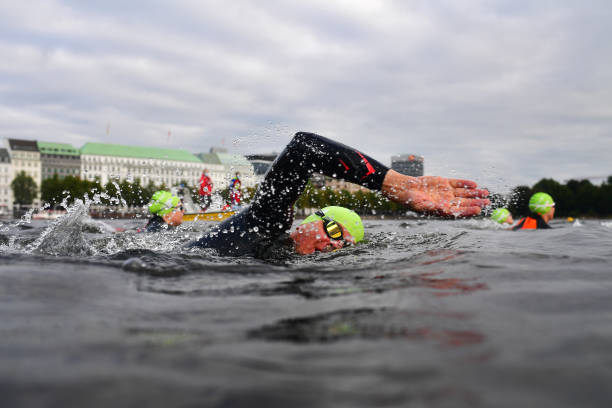 DEU: World Triathlon Championship Series Hamburg 2021 - Day One