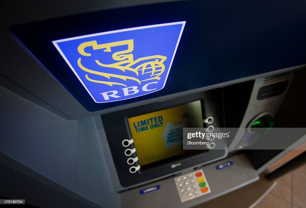An ATM is seen at a Royal Bank of Canada branch in downtown    News