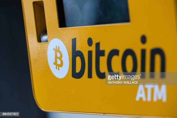 An ATM machine for digital currency Bitcoin is seen in Hong Kong on December 18 2017 Bitcoin has soared in recent weeks breaking numerous records and...