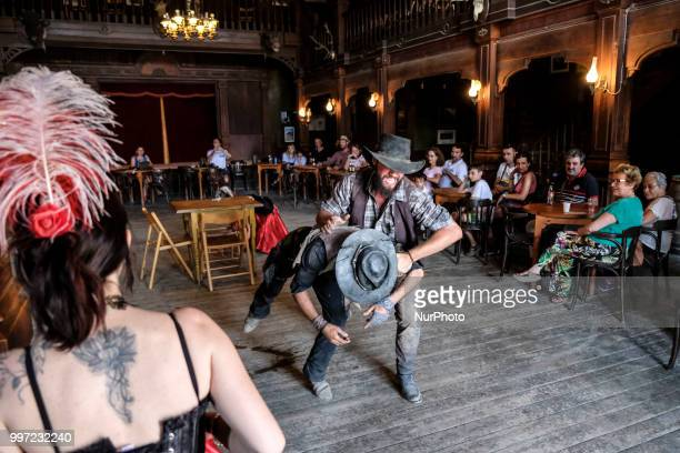 An atmospheric restaurant during a route of the Spaghetti Western Movie with which you can spend a whole day enjoying the stages the shows and the...