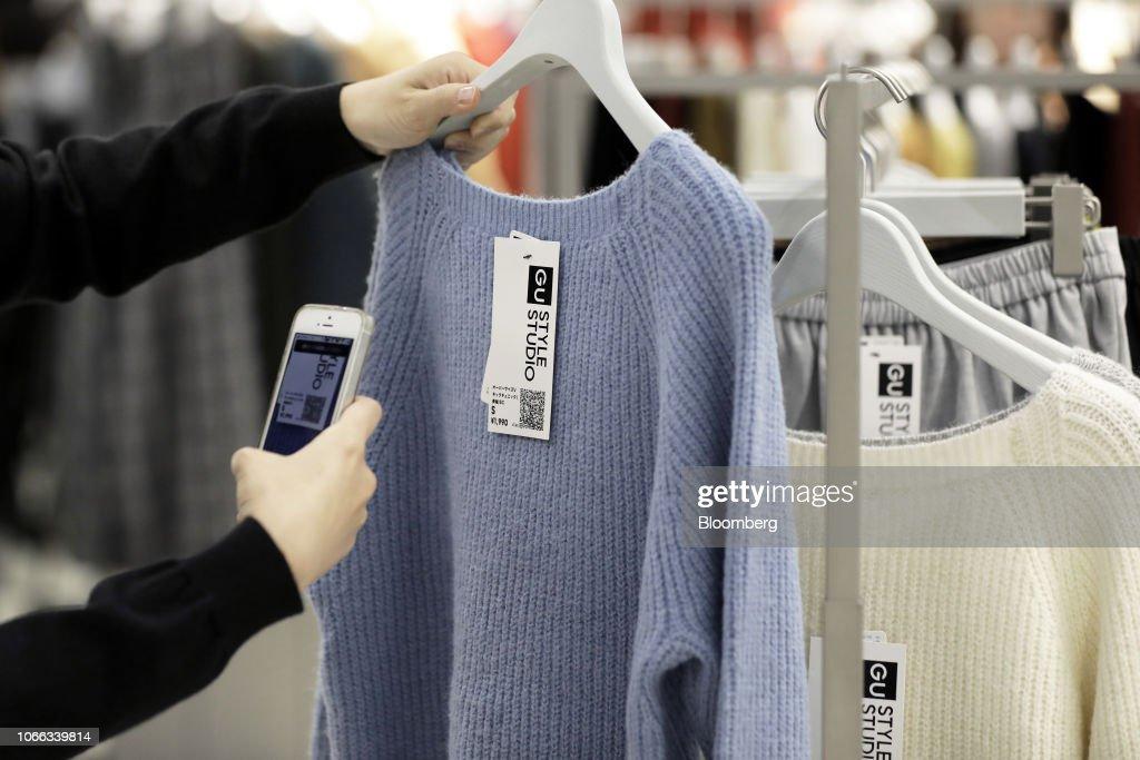 Fast Retailing's Gu Brand Introduces The Gu Style Creator App : News Photo