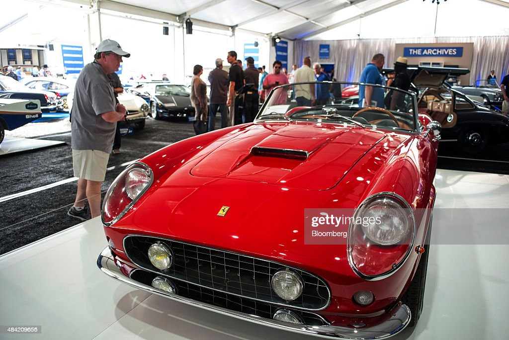 Inside The Pebble Beach Concours d\'Elegance Classic Car Show Photos ...