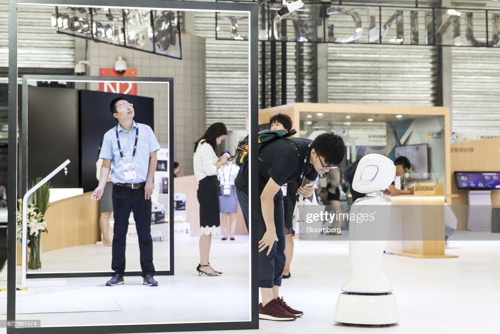 Products and Displays at CES Asia : News Photo