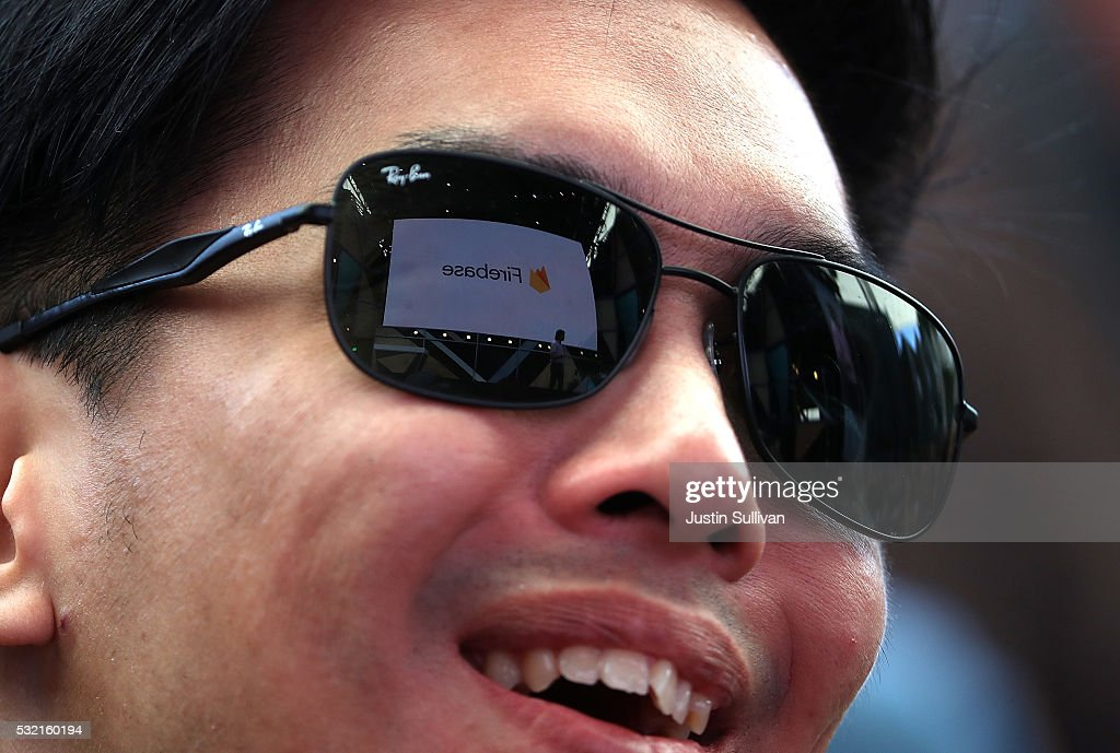 An attendee looks on during Google I/O 2016 at Shoreline Amphitheatre on May 19, 2016 in Mountain View, California. Google CEO Sundar Pichai delivered the keynote address to kick off the annual Google I/O conference that runs through May 20.