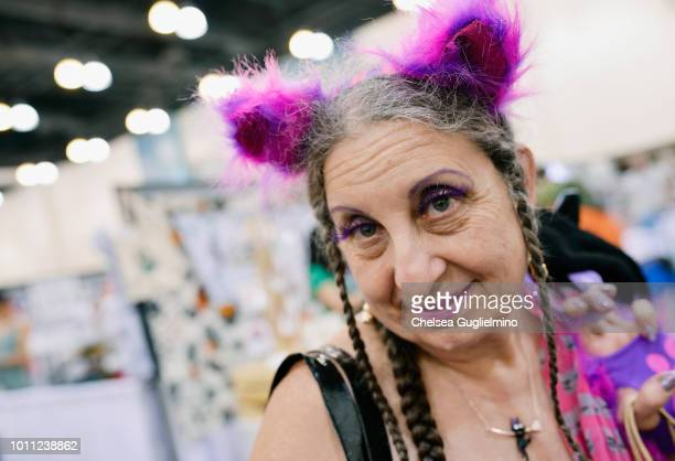 An attendee seen at CatCon Worldwide 2018 at Pasadena Convention Center on August 4 2018 in Pasadena California