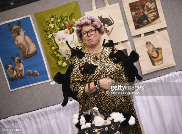 An attendee seen at CatCon Worldwide 2018 at Pasadena Convention Center on August 5 2018 in Pasadena California