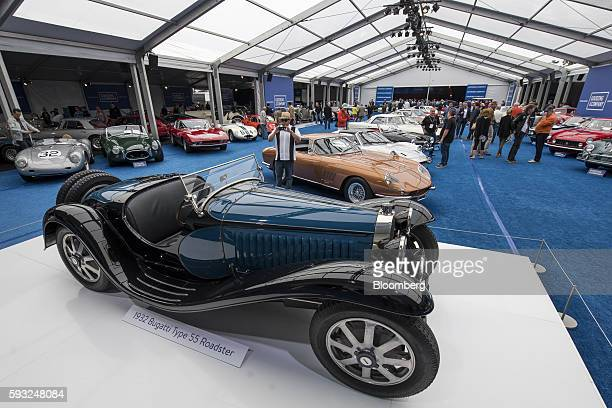 bugatti type 55 roadster stock photos and pictures | getty images