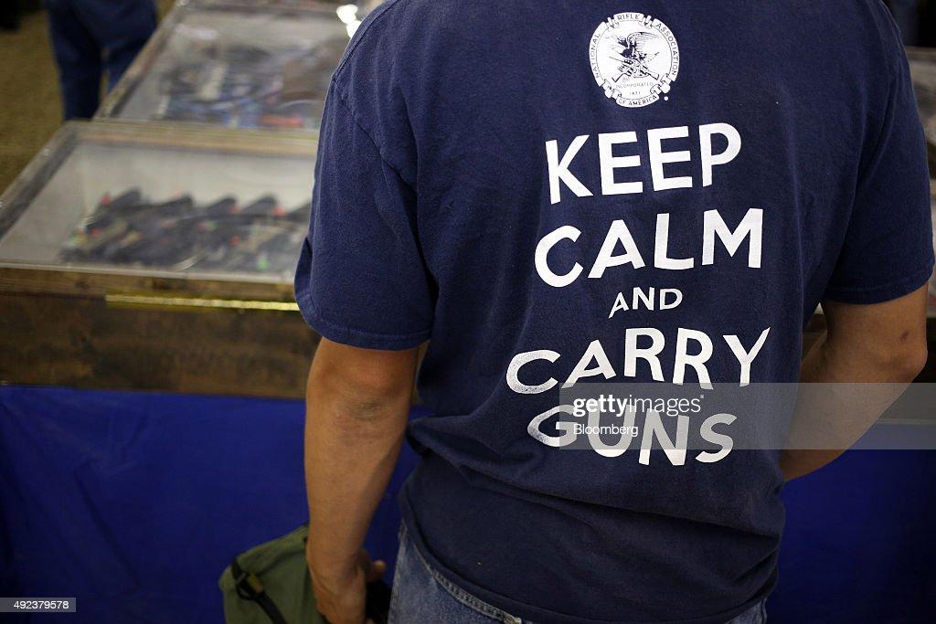 "Inside The Knob Creek Machine Gun Shoot, Billed As The ""World's Largest Machine Gun Shoot and Military Gun Show"" : News Photo"