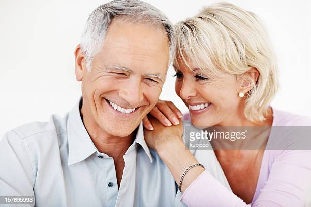 An attractive mature couple spending time together