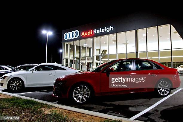 Audi A Stock Photos And Pictures Getty Images - Audi raleigh