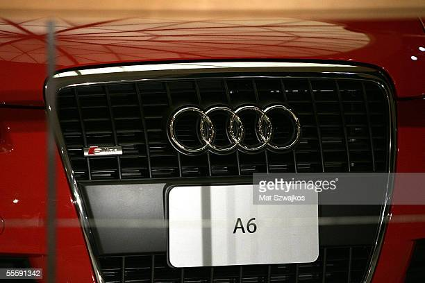 An Audi A6 pictured at the VPL By Victoria Barlett 2006 fashion show during Olympus Fashion Week September 15 2005 in New York City