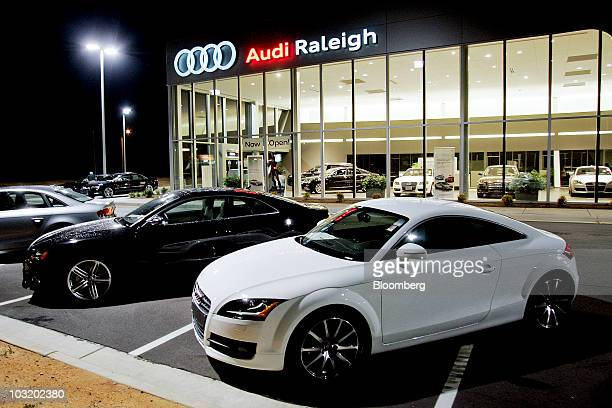 Audi Dealership Stock Photos And Pictures Getty Images - Audi raleigh
