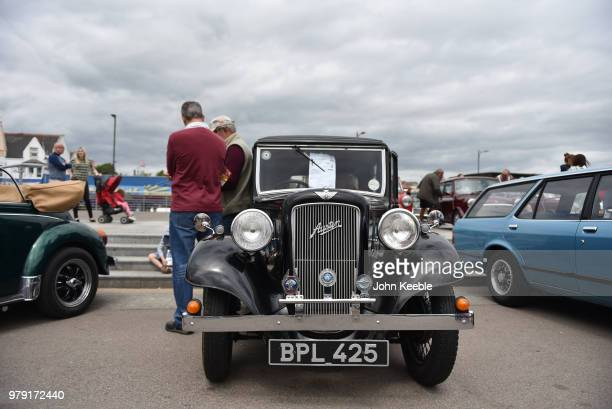 An Austin Seven on display during the Southend Classic Car Show along the seafront on June 17 2018 in Southend on Sea England