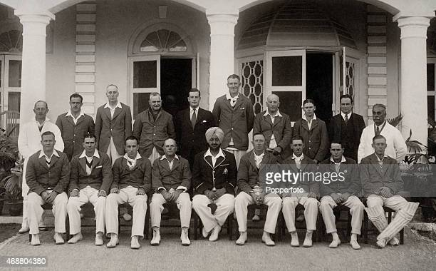 An Australian cricket team organised by Frank Tarrant toured Ceylon and India in the winter of 193536 considered to be a 'secondary tour' as the...