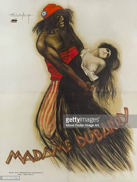 An Austrian poster by artist Theo Matekjo for the 1919 German silent film 'Madame DuBarry' directed by Ernst Lubitsch The film was based on the life...