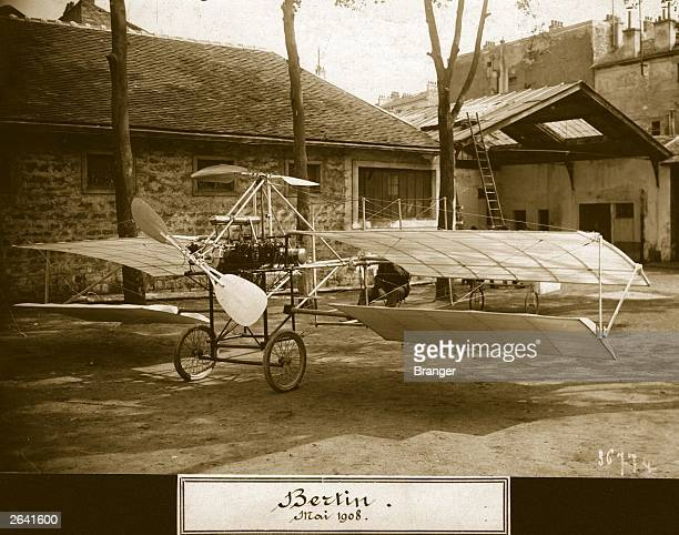 An autogiro powered by a 120 hp Bertin engine the topmounted rotorblade hoped to give the aircraft vertical lift but it never flew Aeroplane Album...