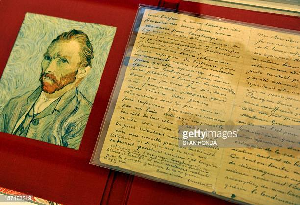 An autographed letter from Dutch painter Vincent Van Gogh less than seven months before his death as he shares his thoughts with an ailing friend on...
