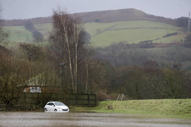 GBR: Flooding After Downpours From Storms Dennis and Ciara Hit Region