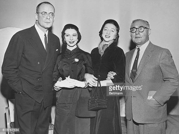 """An Award for """"Outstanding Contribution to the Dance"""" New York City Ballet Company, Lincoln Kirstein , is shown at a luncheon at the Waldorf-Astoria..."""