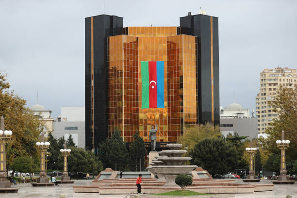 AZE: National Flags Fly In Baku As Regions Returned To Azerbaijan