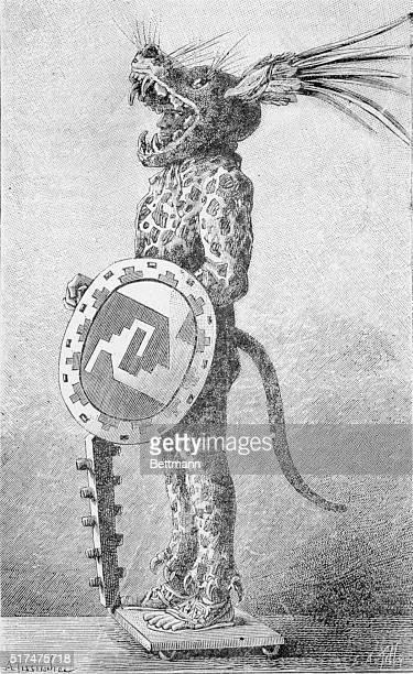 An Aztec Warrior of Montezuma's Army