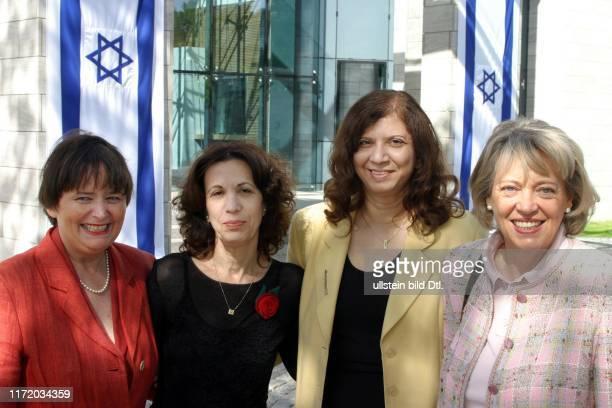 an der Botschaft von Israel mit Monika Diepgen Carmela Stein Sara Nachama Annemarie Ziefer