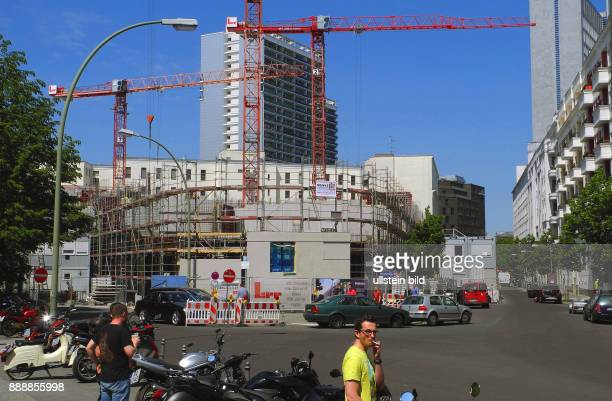 An der Ecke Kommandantenstrasse / Beuthstrasse erfolgte Ende September 2015 der erste Spatenstich fuer ein neues Quartier dem Pandion First auf dem...