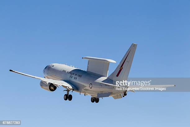 an e-7 wedgetail of the royal australian air force. - オーストラリア空軍 ストックフォトと画像
