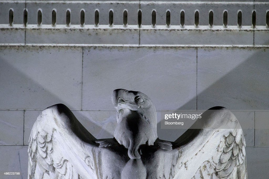 Views Of The Federal Reserve As Markets Watch For Interest Rate Liftoff : News Photo