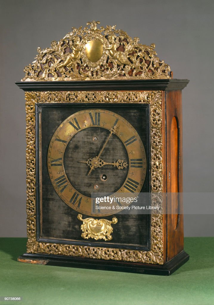 An early example of a pendulum clock made by Isaac Thuret ,    News