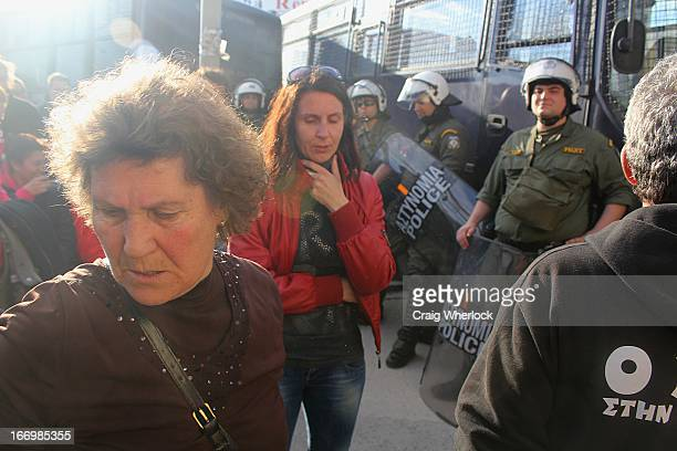 CONTENT] An early morning raid by Greek police in the small town of Ierissos in northern Greece has sparked off another round of protests in the...