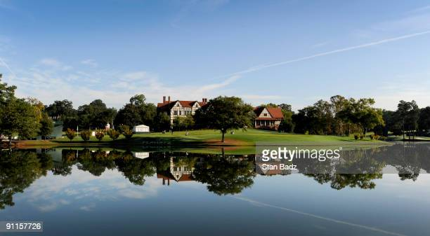 An early morning scenic of East Lake Golf Club during the second round of THE TOUR Championship presented by Coca-Cola, the final event of the PGA...