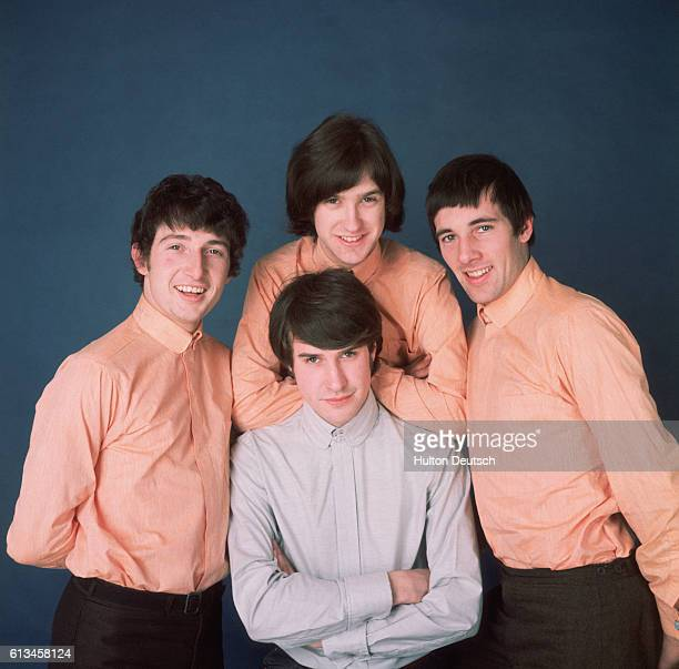 An early promotional shot of the English rock band The Kinks