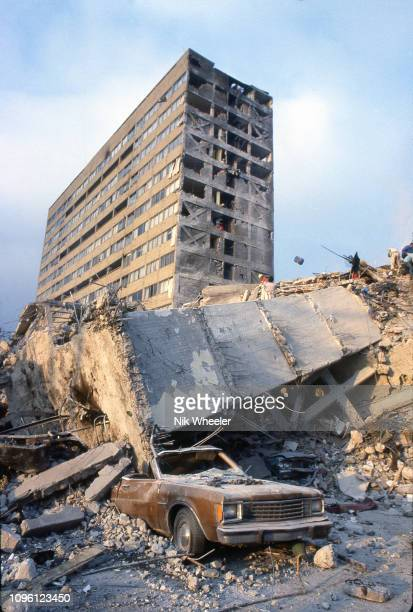 An earthquake registering 8.0 on the Richter scale that hit downtown Mexico City in September 1985 killed 5000 people and collapsed 412 buildings,...