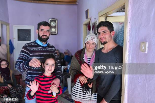 An earthquake victim Durdane Aydin Land his husband meet with Syrian university student Mahmud el Osman to show their gratitudes owing to be saved...