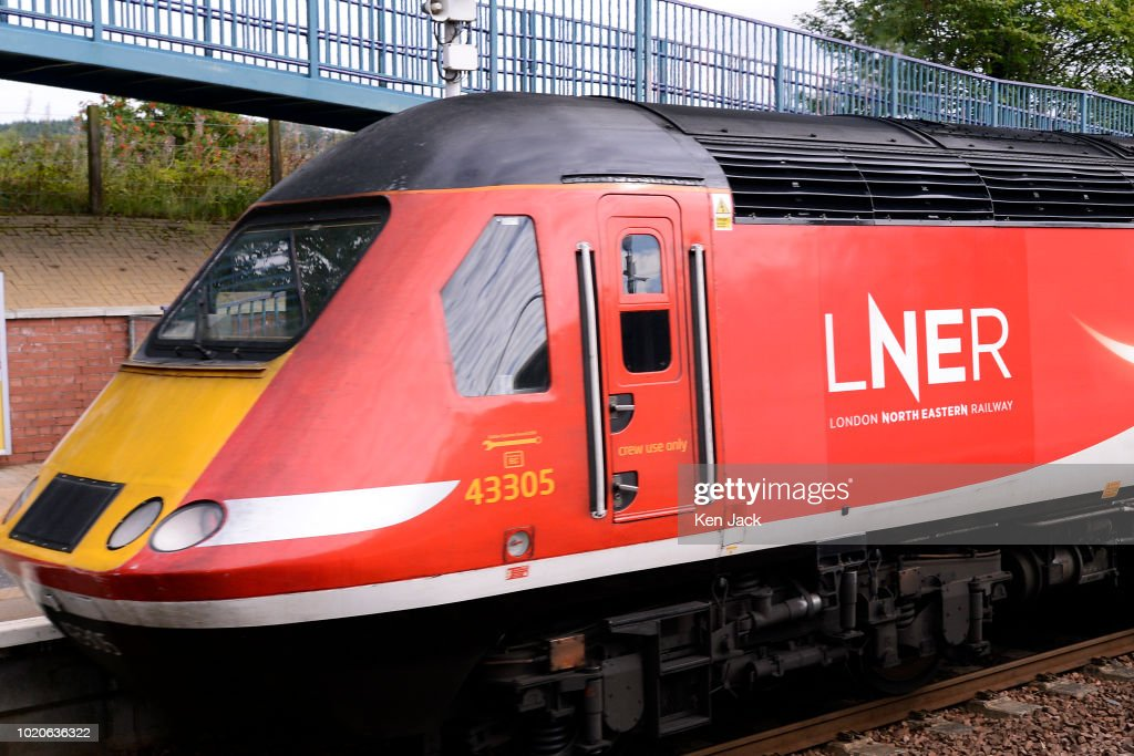 East Coast Train In LNER Livery After Takeover From Virgin