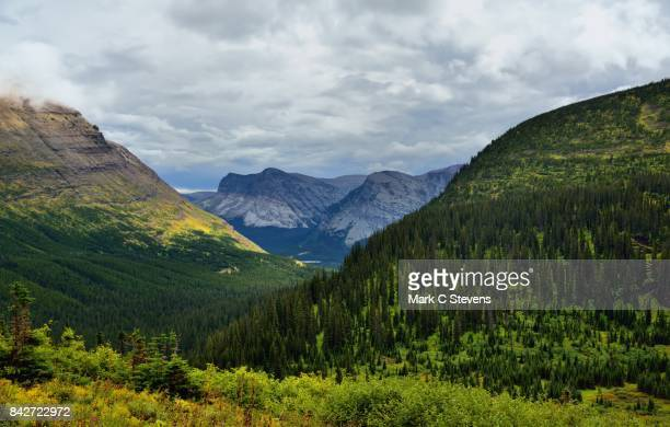 An Eastward View in Glacier National Park