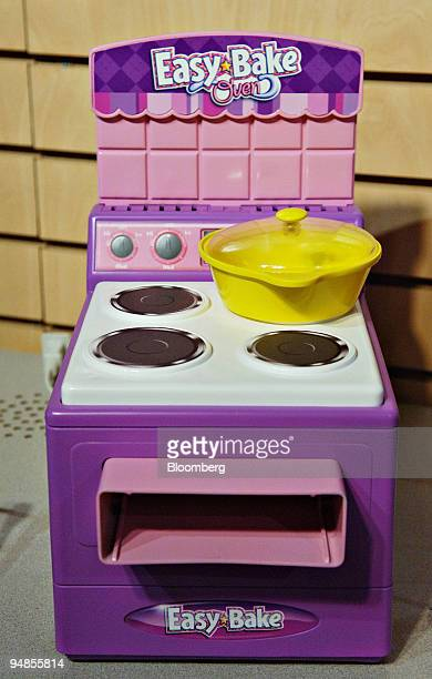 An Easy Bake Oven sits on display in the Hasbro showroom in New York during the International Toy Fair Thursday February 9 2006