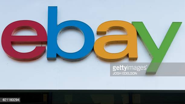 An Ebay sign and logo is seen in San Jose California on November 4 2016