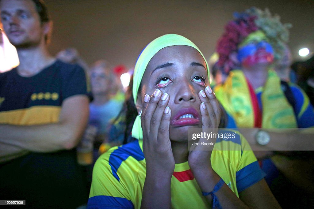 World Cup Fans Gather To Watch Matches In Rio : News Photo