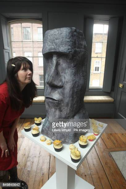 An edible stone head deigned by Ms Cake Head who has created a Hansel and Gretel inspired wonderland allowing people to eat their way through edible...