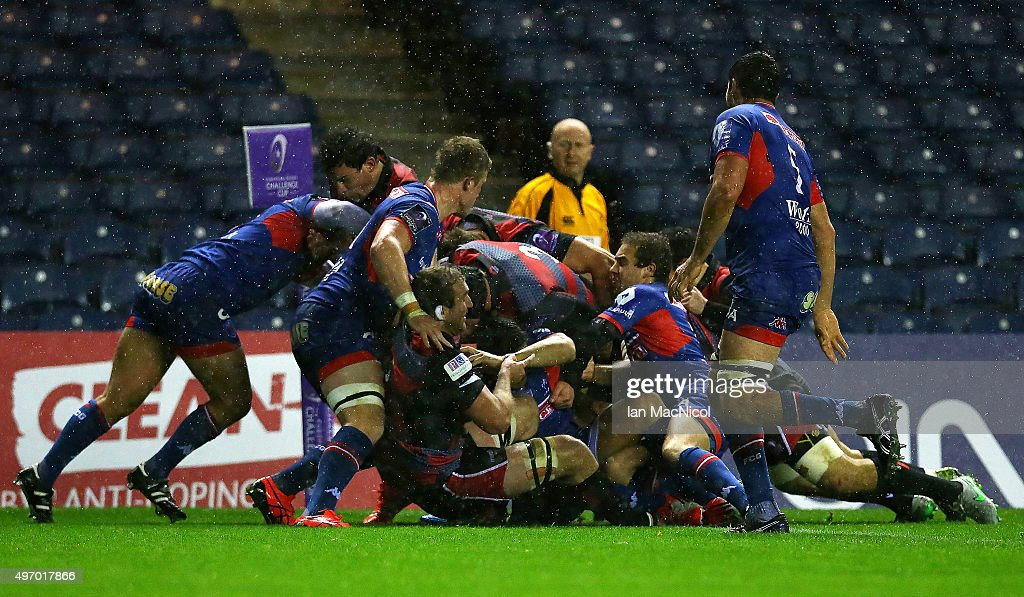 Edinburgh Rugby v Grenoble - European Rugby Challenge Cup : News Photo