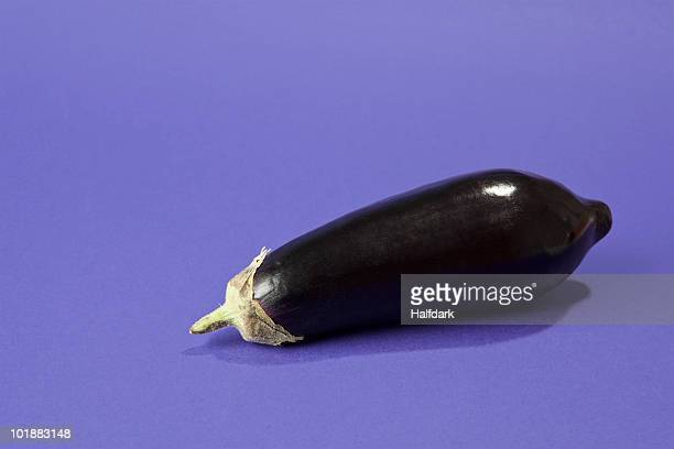 an eggplant - eggplant stock photos and pictures