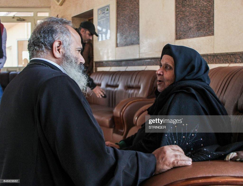 EGYPT-UNREST-RELIGION-COPTS : News Photo