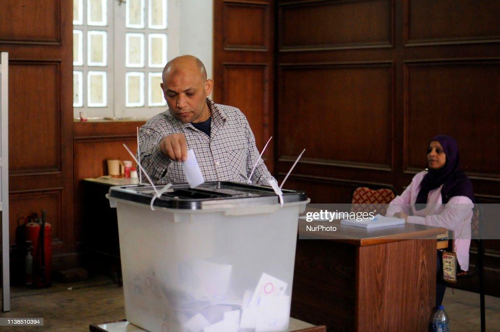 EGY: Constitutional Referendum In Egypt