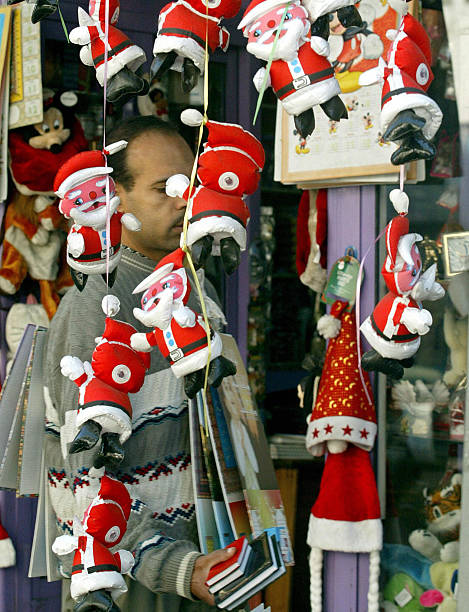 an egyptian man selling clanders passe pictures getty images